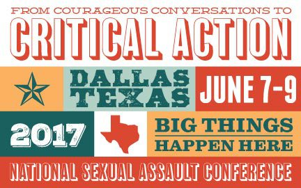 From Courageous Conversation to Critical Action TAASA National Sexual Violence Conference 2017